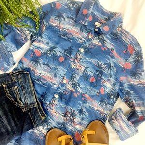 J.Crew Hawaiian Popover Shirt